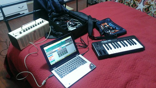 Portable music studio
